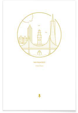 San Francisco Minimalist Poster