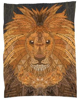King Lion Plaid