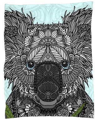 Koala Fleecedecke