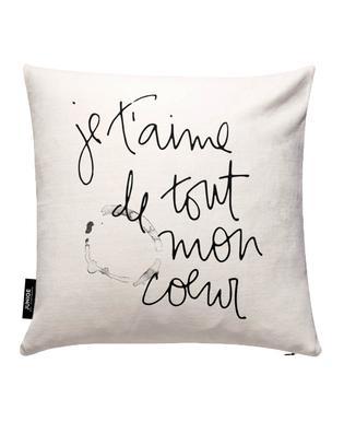 Je t'aime Cushion Cover