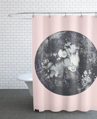 Mercury Pink Shower Curtain