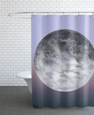 Quaoar gradient Shower Curtain