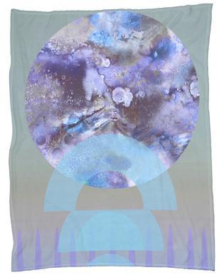 Lift Lilac Fleece Blanket
