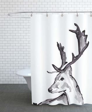 Deer Rideau de douche