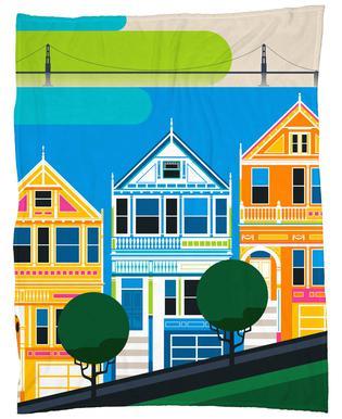 San Francisco 69 Fleecedecke