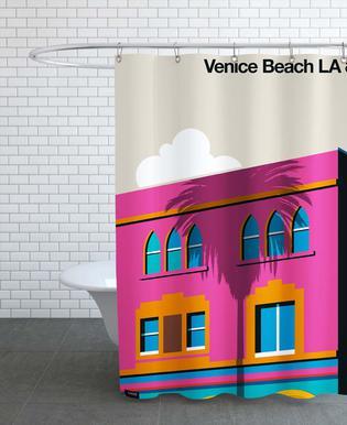 Venice LA 80 Rideau de douche