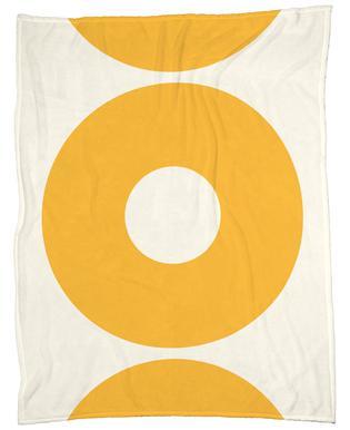 Hot Sun Fleece Blanket