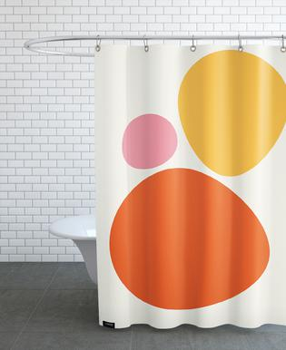 Hot Stones -Duschvorhang