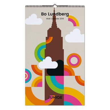 Bo Lundberg 2019 Wall Calendar