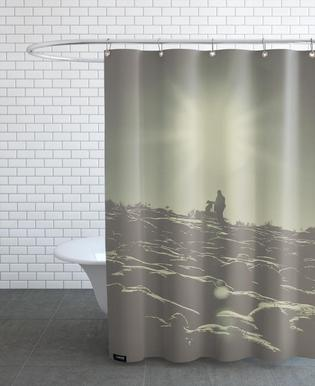 The Man and The Dog Shower Curtain