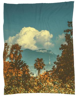 The Palm Fleece Blanket