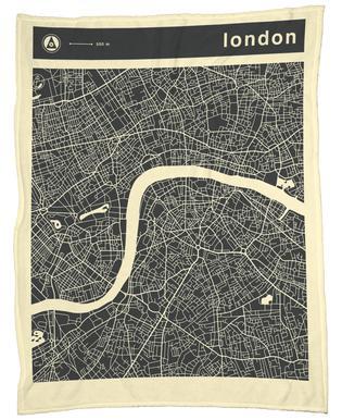 City Maps Series 3 Series 3 - London -Fleecedecke
