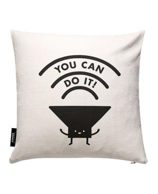 You Can Do It Cushion Cover