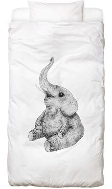 Elephant Linge de lit enfant