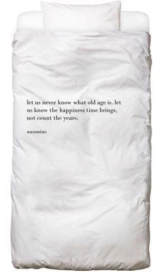 Ausonius Cult Paper Bed Linen