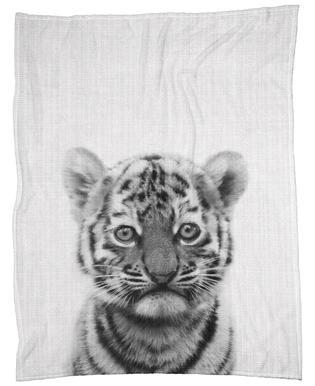 Print 43 Fleece Blanket
