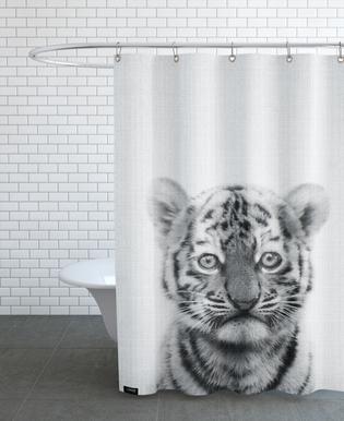 Print 43 -Duschvorhang