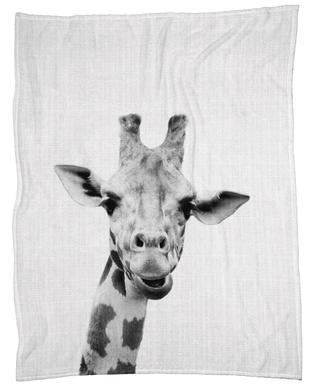 Print 41 Fleece Blanket