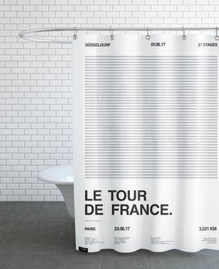 Maillot Blanc rideau de douche