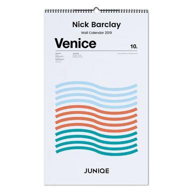 Nick Barclay 2019 Wall Calendar