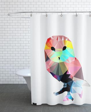 Crystal Owl Shower Curtain