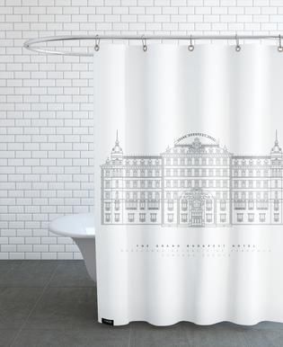 Grand Budapest Hotel Shower Curtain