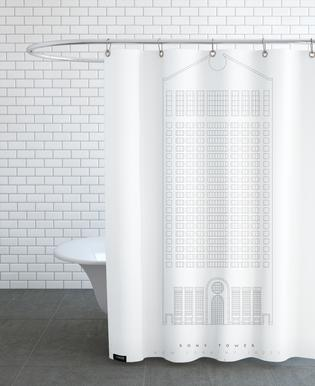 The Sony Building Shower Curtain