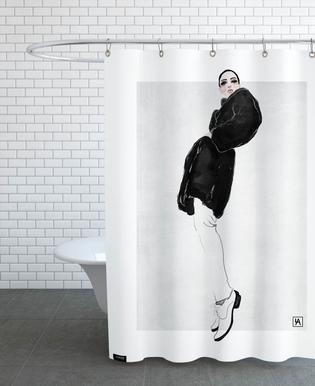 Black Coat Rideau de douche