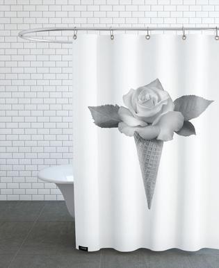 Rose Cream Shower Curtain