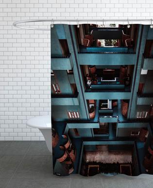 Walden Tetris Duschvorhang