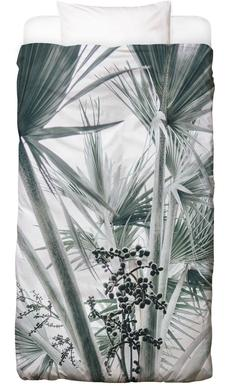 Beach Palm Fruits Bed Linen