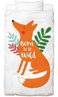 Born to Be Wild Fox Bed Linen