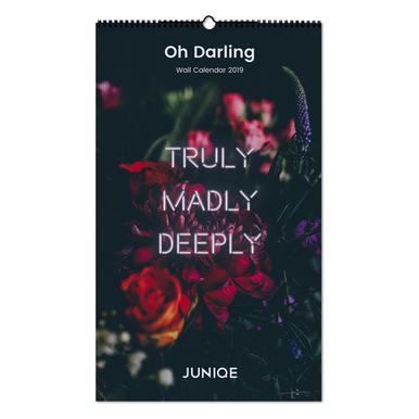 Oh Darling 2019 Wandkalender
