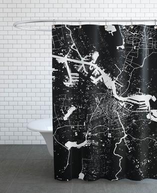 Amsterdam Black Rideau de douche