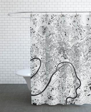 Moscow White Rideau de douche