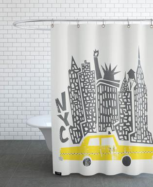 New York Cityscape Douchegordijn