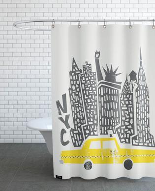 New york rideaux de douche   JUNIQE
