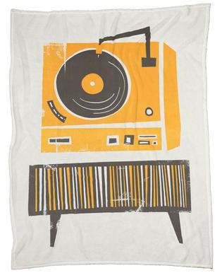 Vinyl Junkie plaid