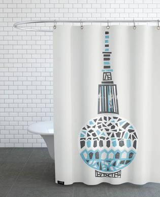 Berlin TV Tower Shower Curtain