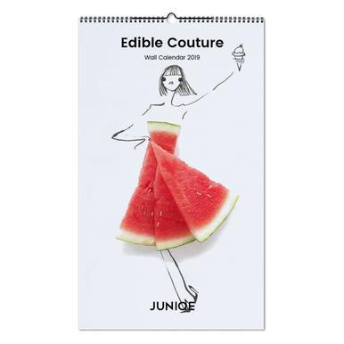 Edible Couture 2019 Wall Calendar
