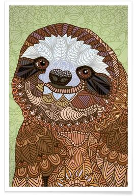 Smiling Sloth affiche
