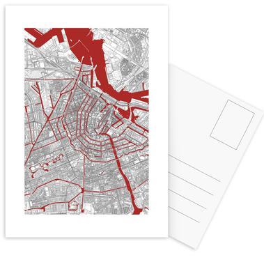 Amsterdam's Liveblood -Postkartenset