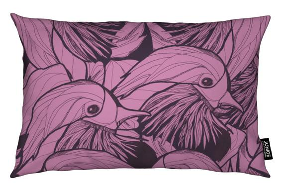 Birds Pink Cushion