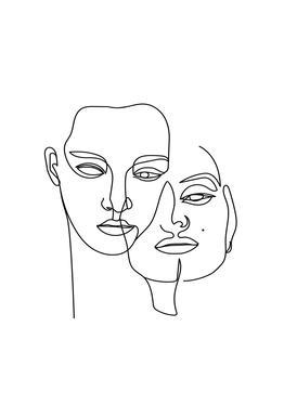 One -Acrylglasbild