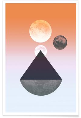 Moon Triangle poster
