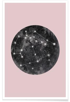 Constellation Pink poster