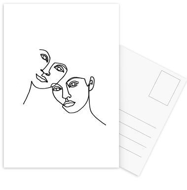 Close Postkartenset