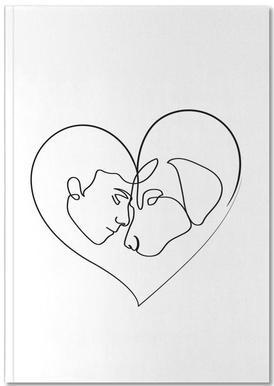 Dog Love Notizbuch