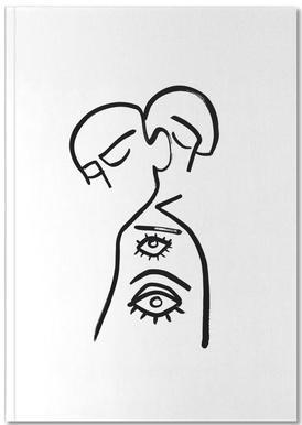 Eye Want You Notizbuch
