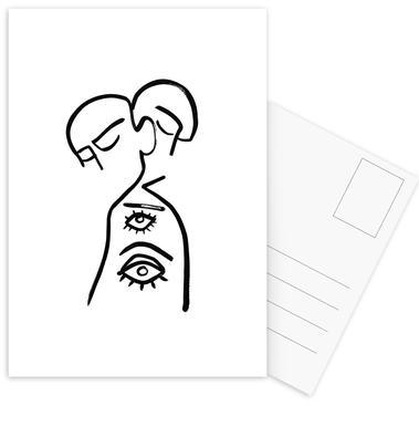 Eye Want You Postkartenset